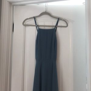 Lulu's Dresses - Long cross back dress for special event